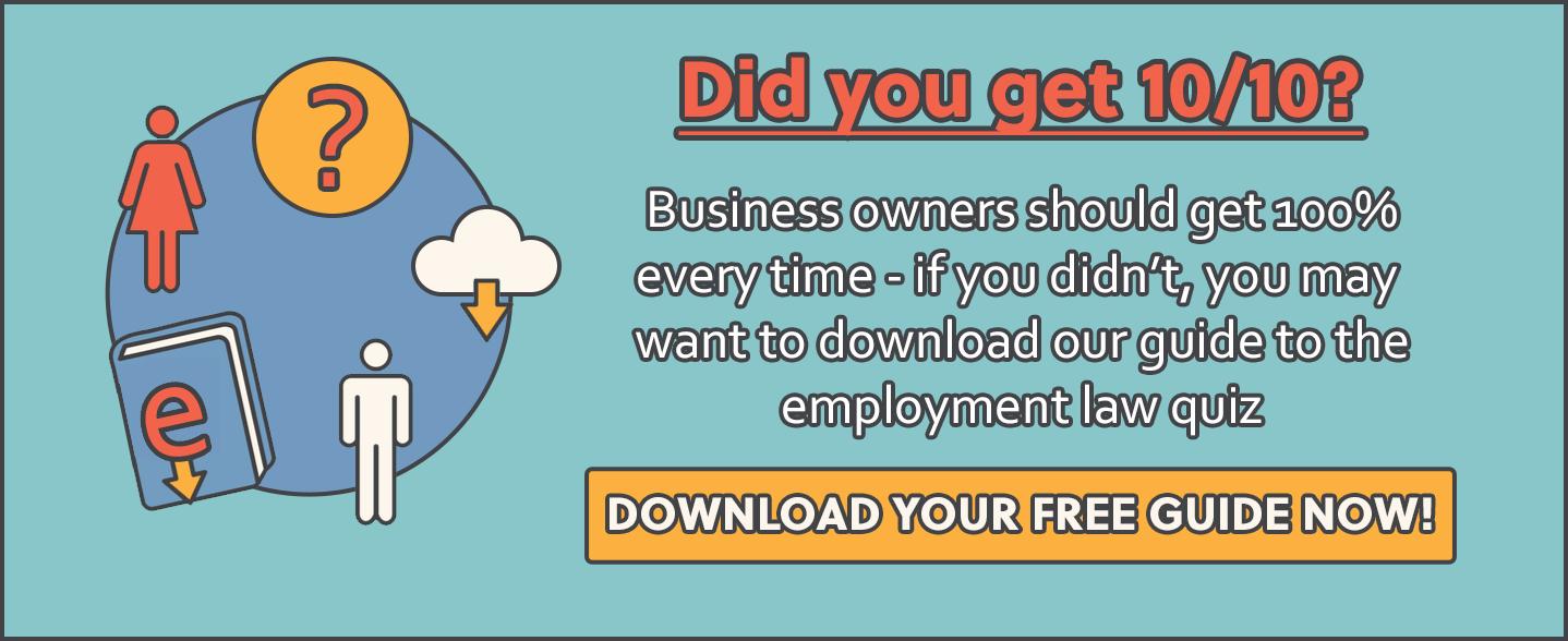 employment law quiz
